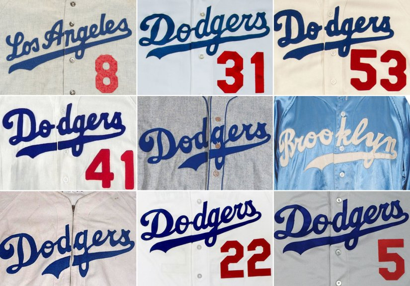 DODGERS-UNIFORMS