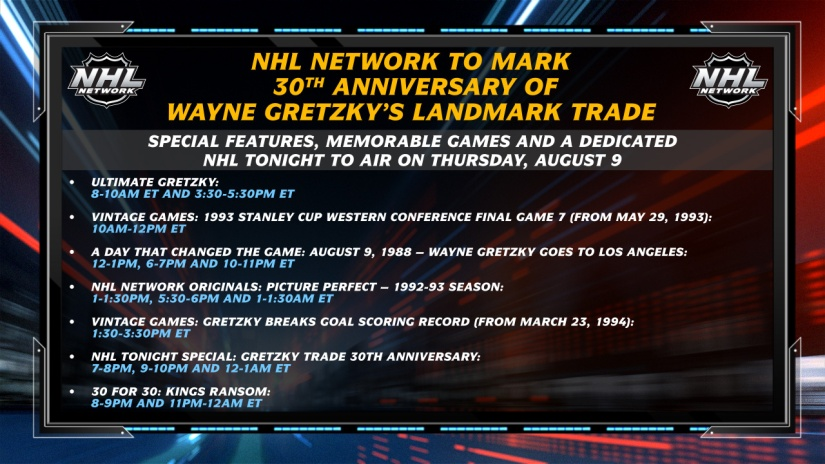 Wayne Gretzky on NHL Network