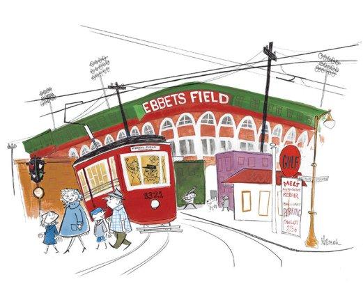Ebbets+Field+with+Bum+Blue