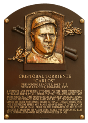 Torriente Cristobal Plaque