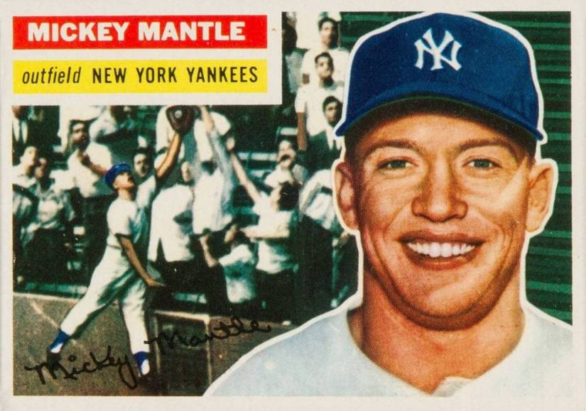 1956-Topps-135-Mickey-Mantle-Baseball-Card
